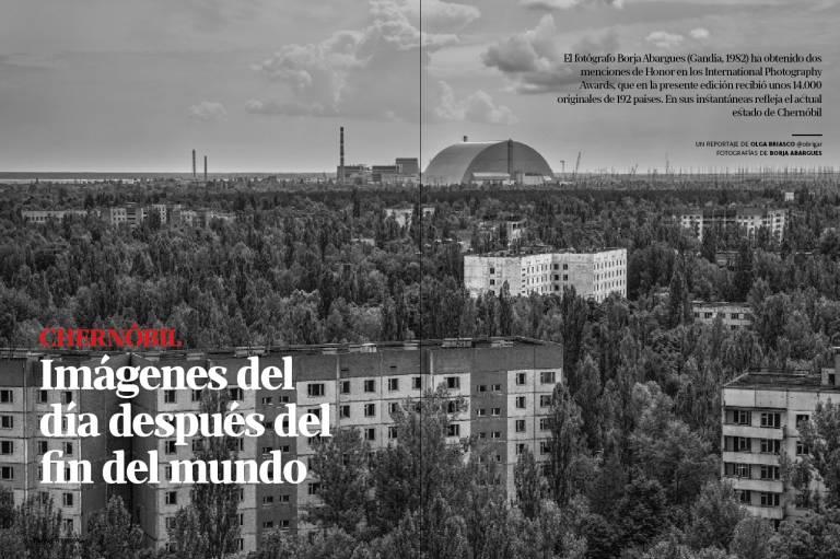 Forgotten Chernobyl en Valencia plaza