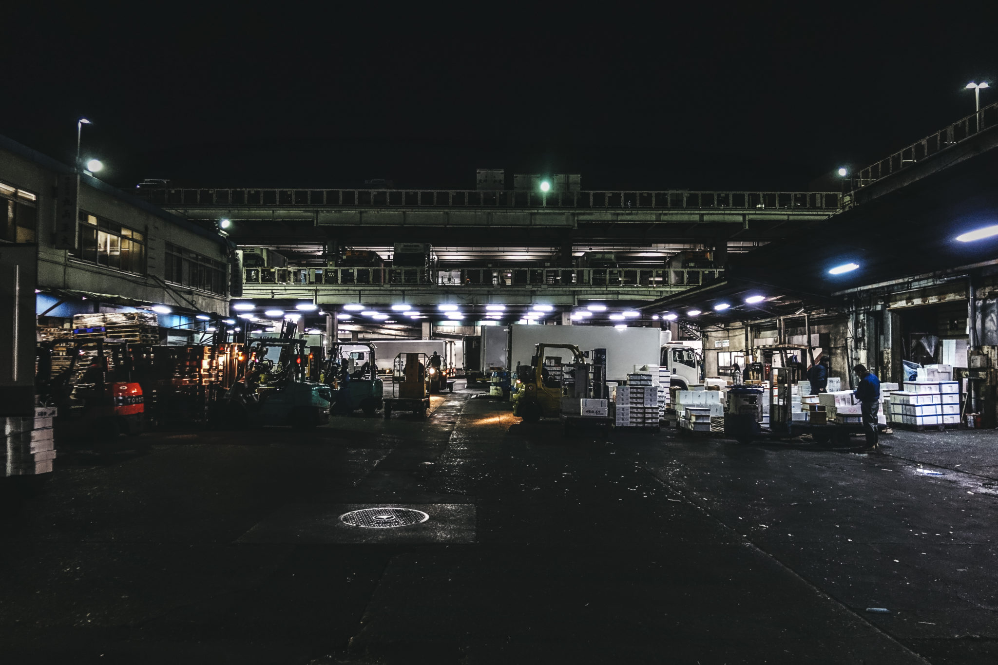 02 – Tsukiji Markt