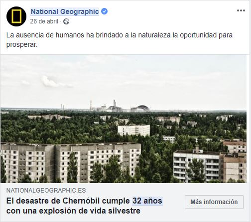 Chernobyl –  National geographic