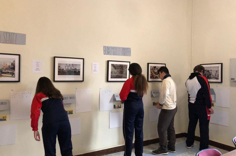 EXPOSICIÓN DE BORJA ABARGUES PARA UN PROYECTO EDUCACIONAL DEL COLEGIO CARMELITAS DE GANDIA