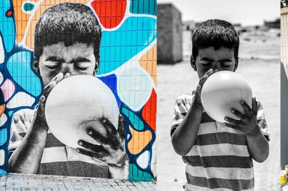 Fotografía documental y arte urbano