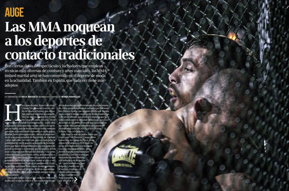 Nuevo reportaje para VALENCIA PLAZA: «El auge del MMA»