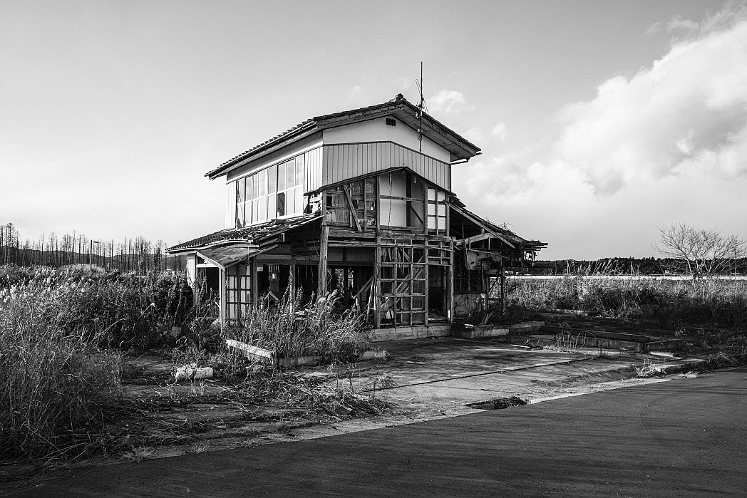 01 – A house destroyed by the Tsunami
