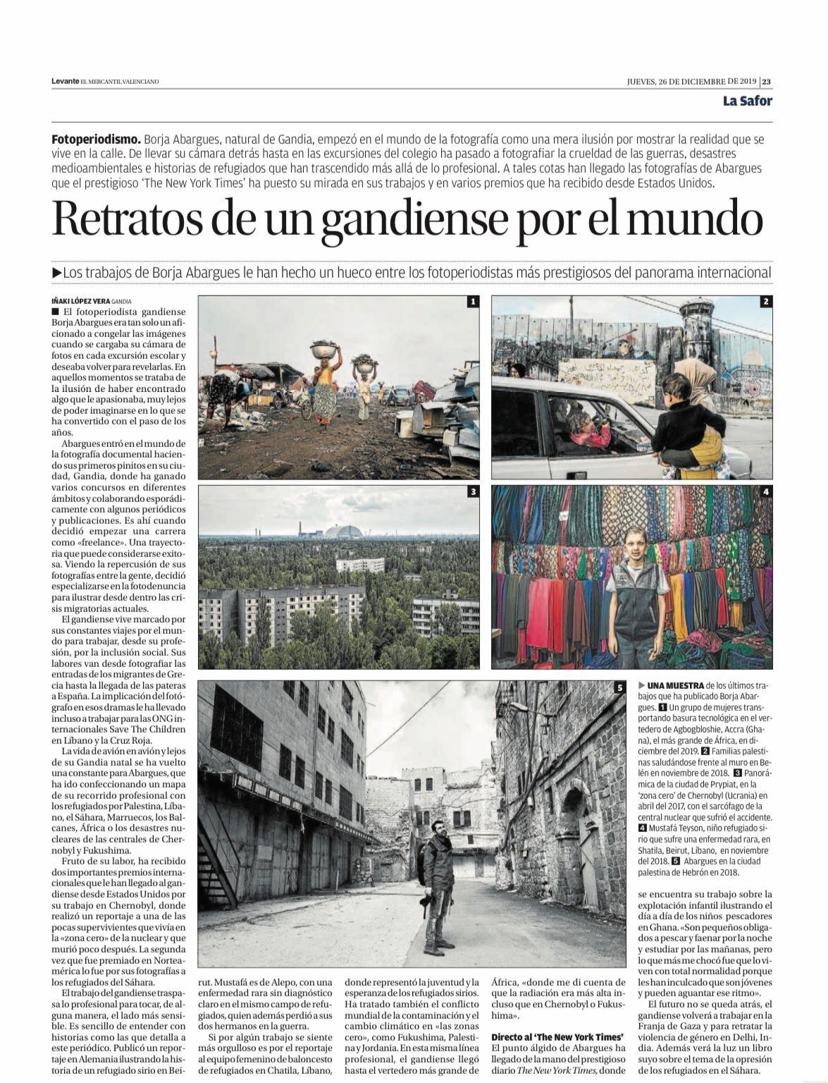 Periódico Levante EMV 26_12_2019